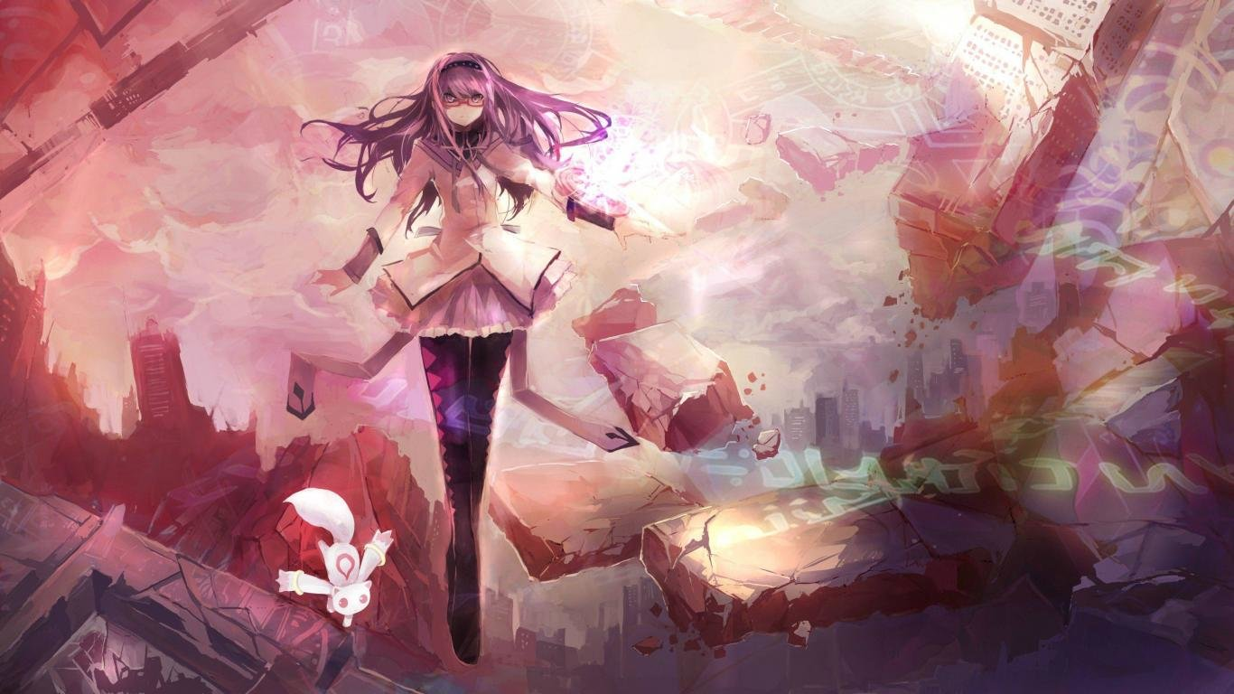 Free download Homura Akemi background ID:32448 laptop for desktop