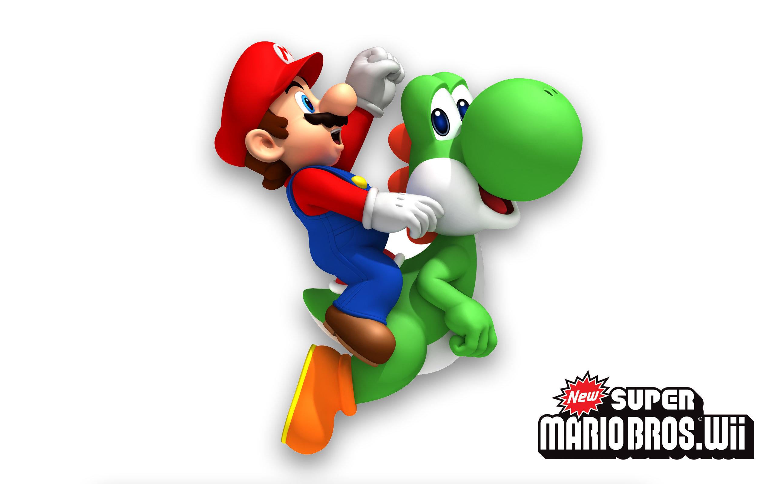 New Super Mario Bros Wii Wallpapers Hd For Desktop Backgrounds
