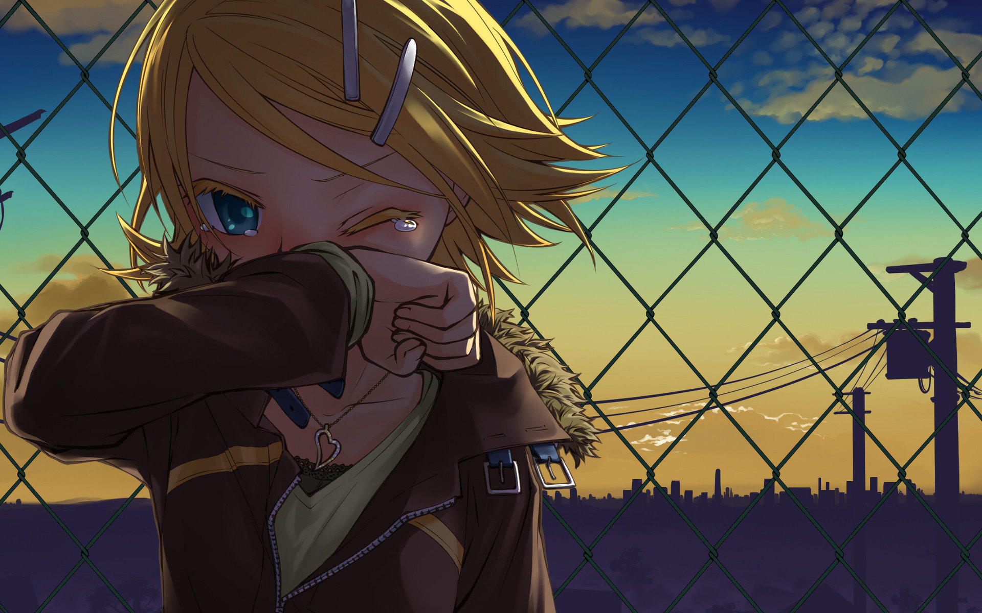 High resolution Rin Kagamine hd 1920x1200 background ID:277 for PC