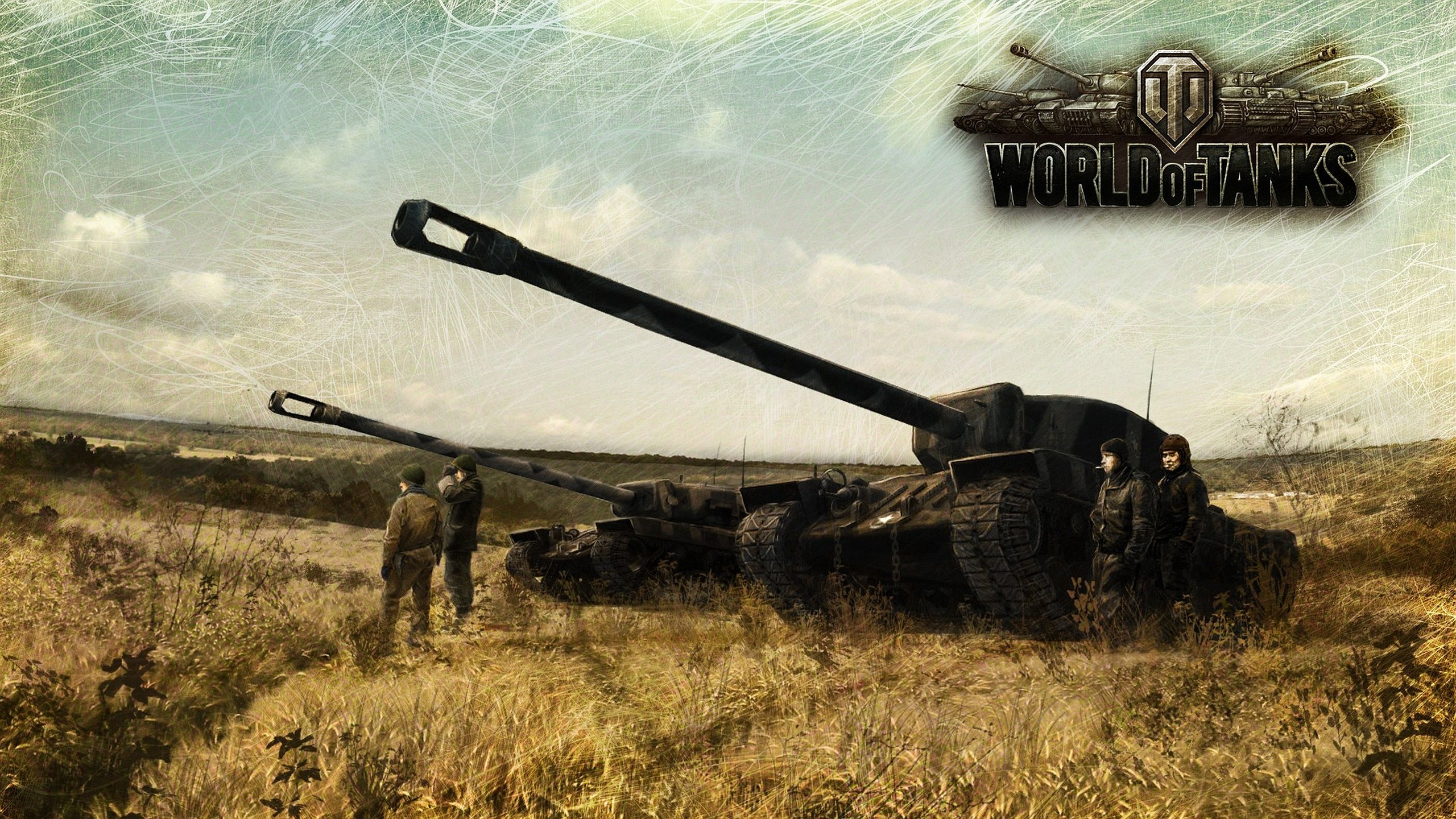 Awesome World Of Tanks Wot Free Wallpaper Id45122 For Hd 2560x1440 Pc