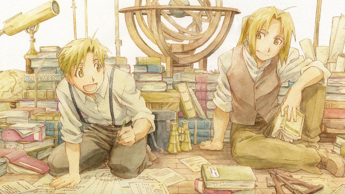 Awesome FullMetal Alchemist (FMA) free background ID:310554 for 1366x768 laptop PC