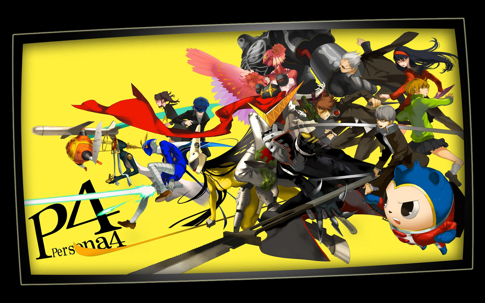 Best Persona 4 Wallpaper Id114273 For High Resolution Hd