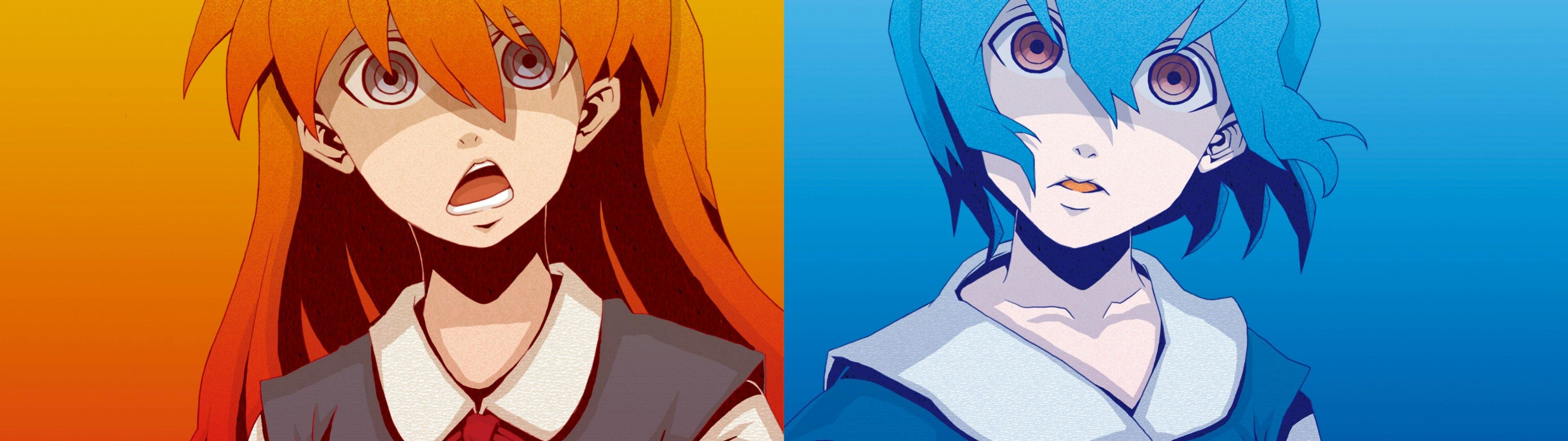 High resolution Neon Genesis Evangelion dual monitor 1920x1080 background ID:215437 for desktop