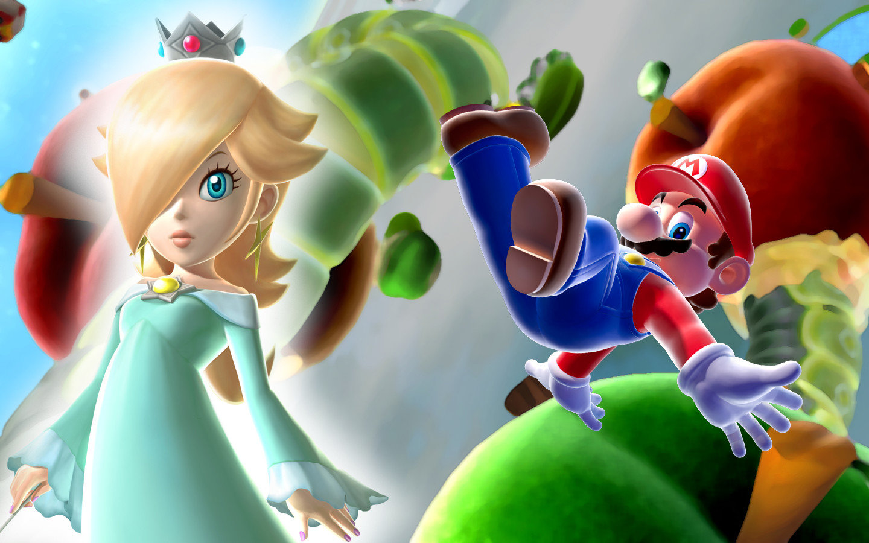 Super Mario Galaxy 2 Wallpapers 1440x900 Desktop Backgrounds