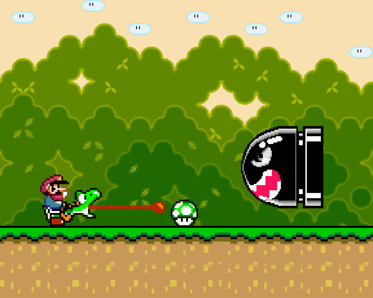 Awesome Super Mario World free wallpaper ID:383639 for hd 1280x1024 PC