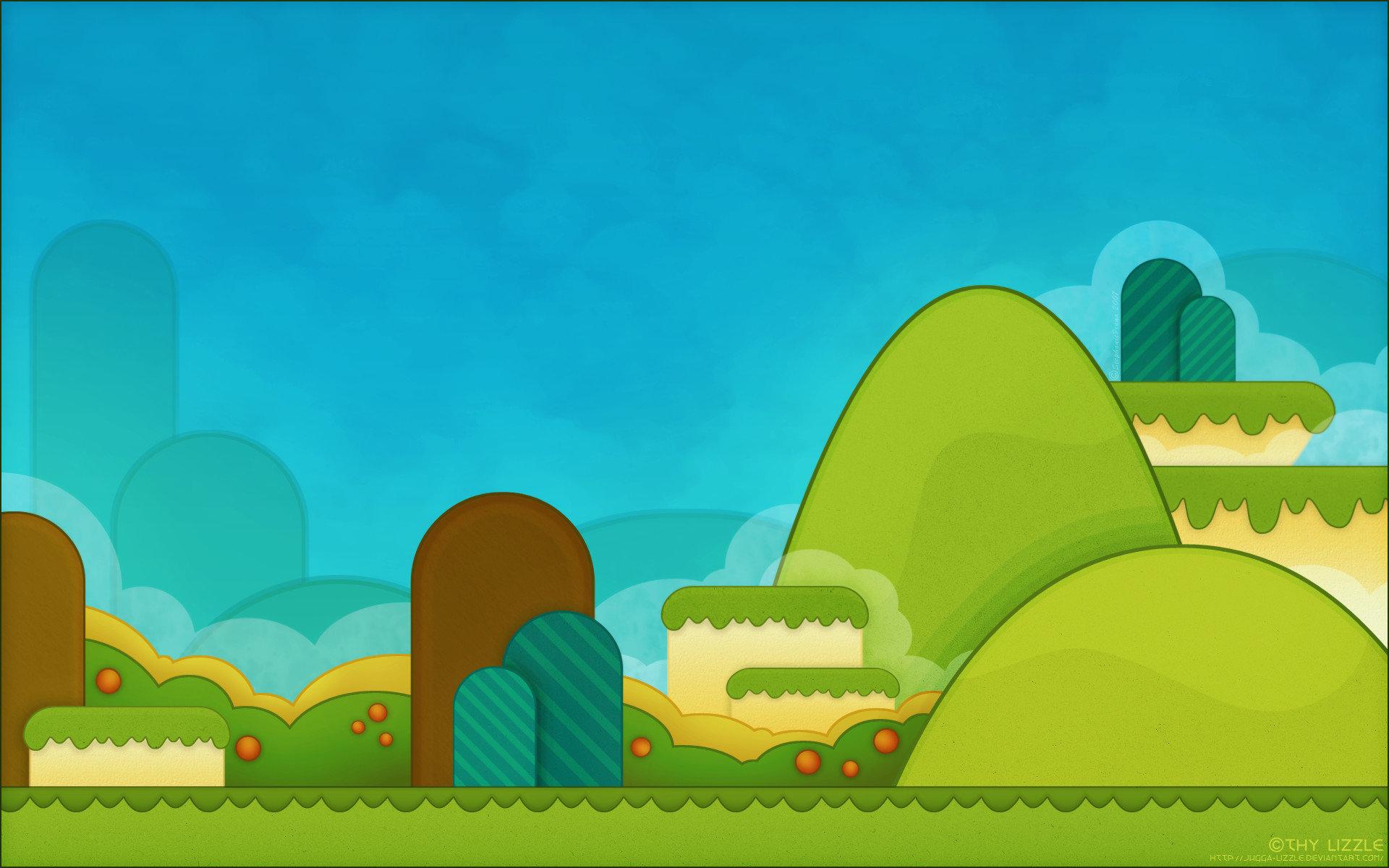 Download Hd 1920x1200 Super Mario World Desktop Wallpaper Id 383646