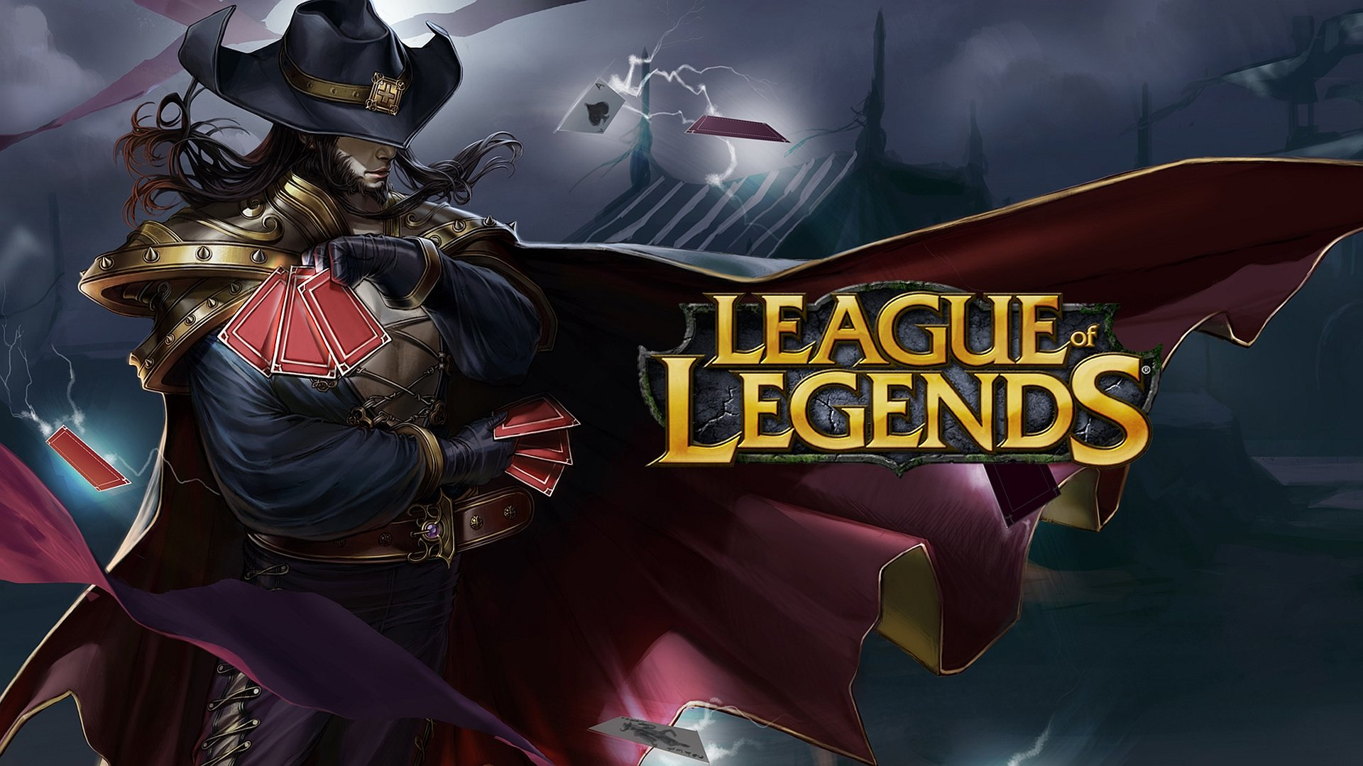 Twisted Fate League Of Legends Wallpapers 1920x1080 Full Hd