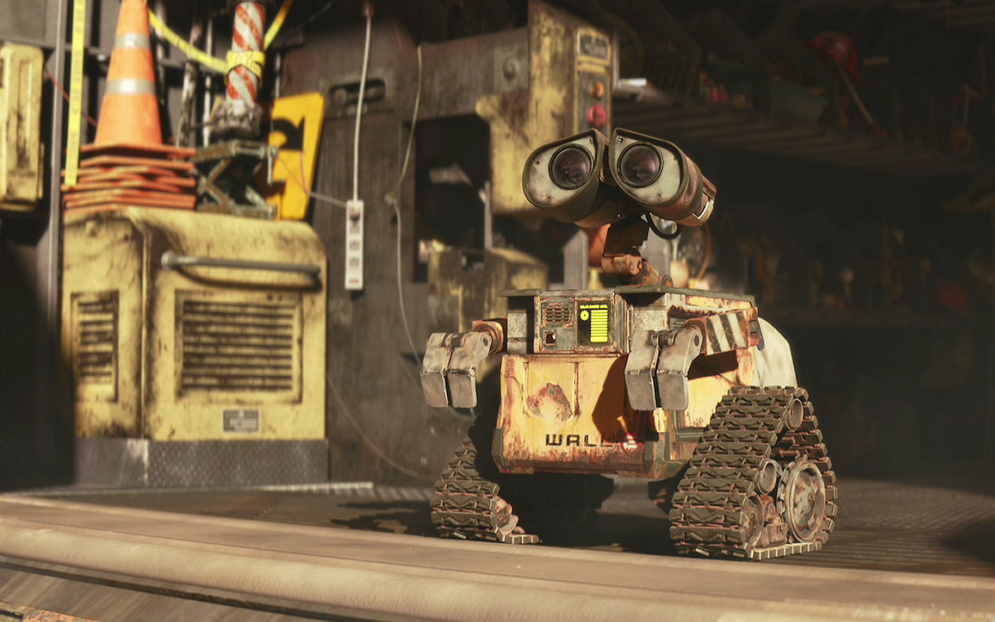 Free Wall.E high quality background ID:25889 for hd 1440x900 computer