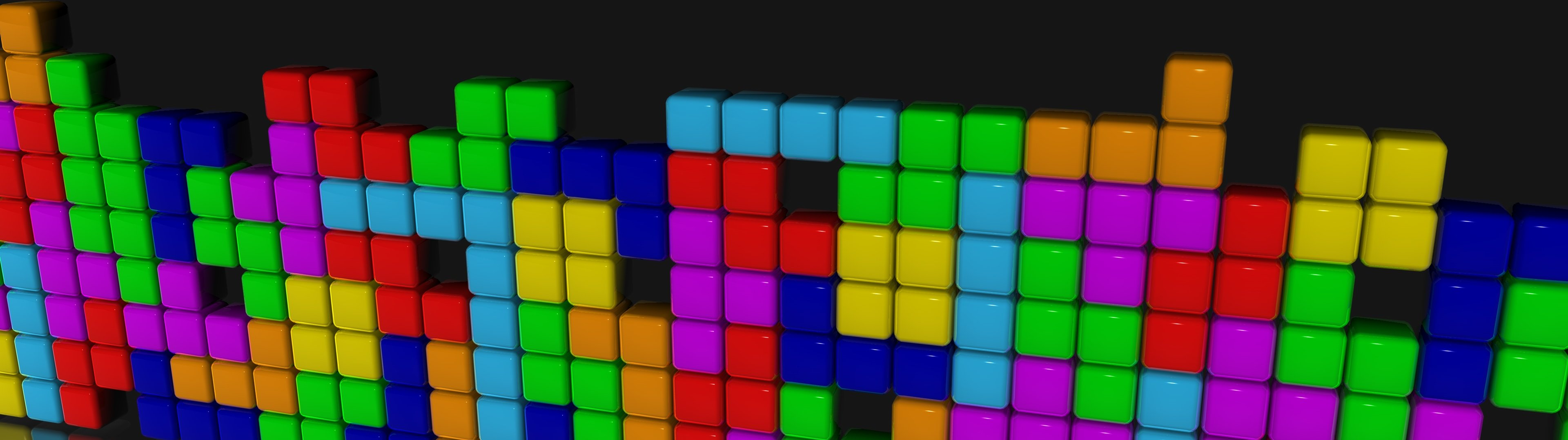 High resolution Tetris dual monitor 1080p background ID:450615 for desktop