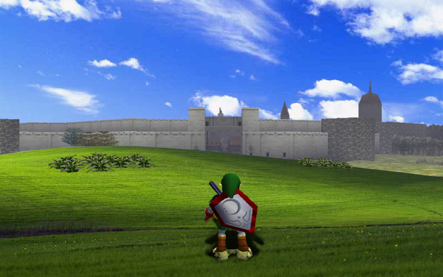 Awesome The Legend Of Zelda Ocarina Of Time Free Wallpaper Id