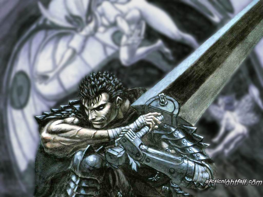 Awesome Guts (Berserk) free background ID:67672 for hd 1024x768 PC
