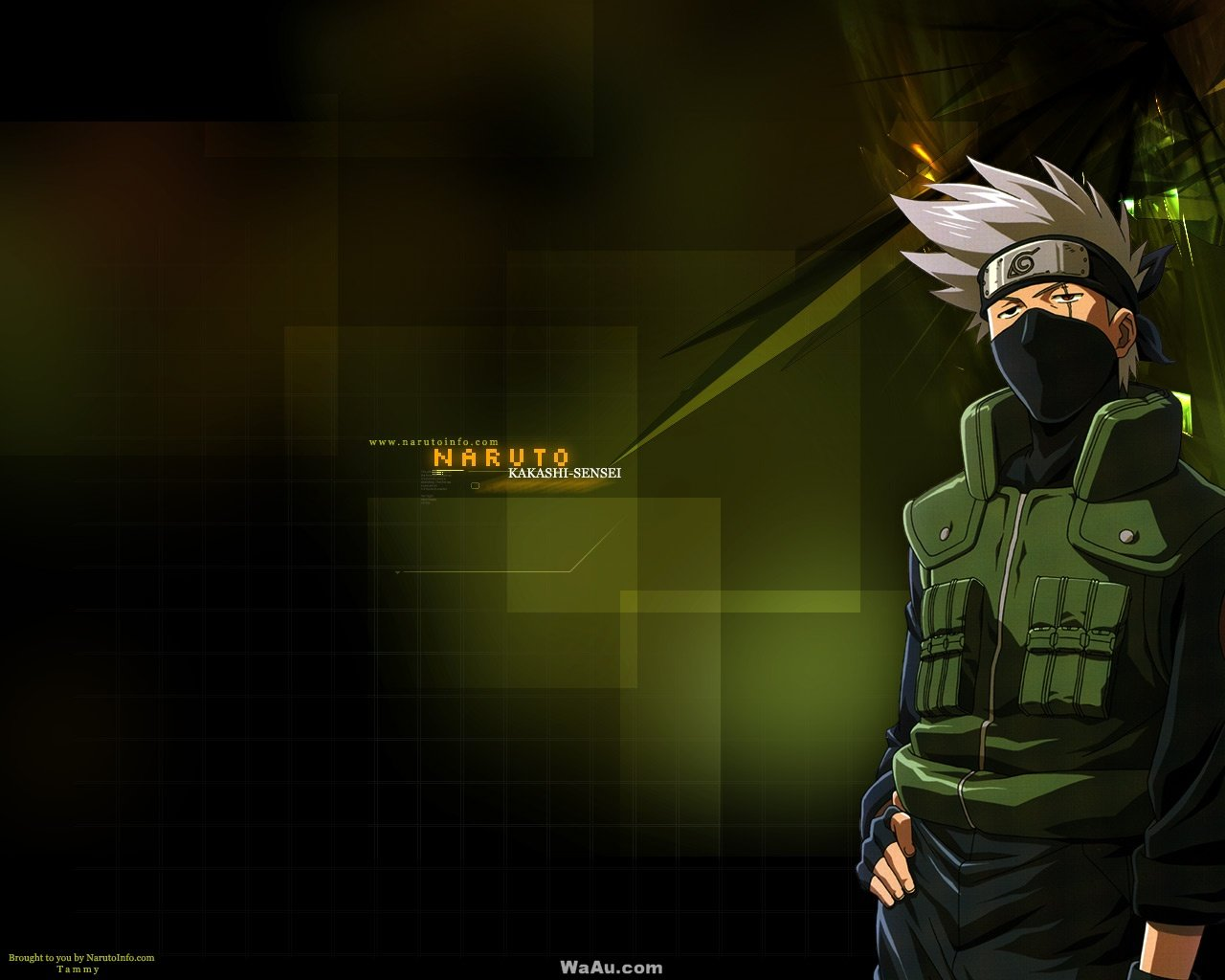 Free download Kakashi Hatake background ID:396329 hd 1280x1024 for computer