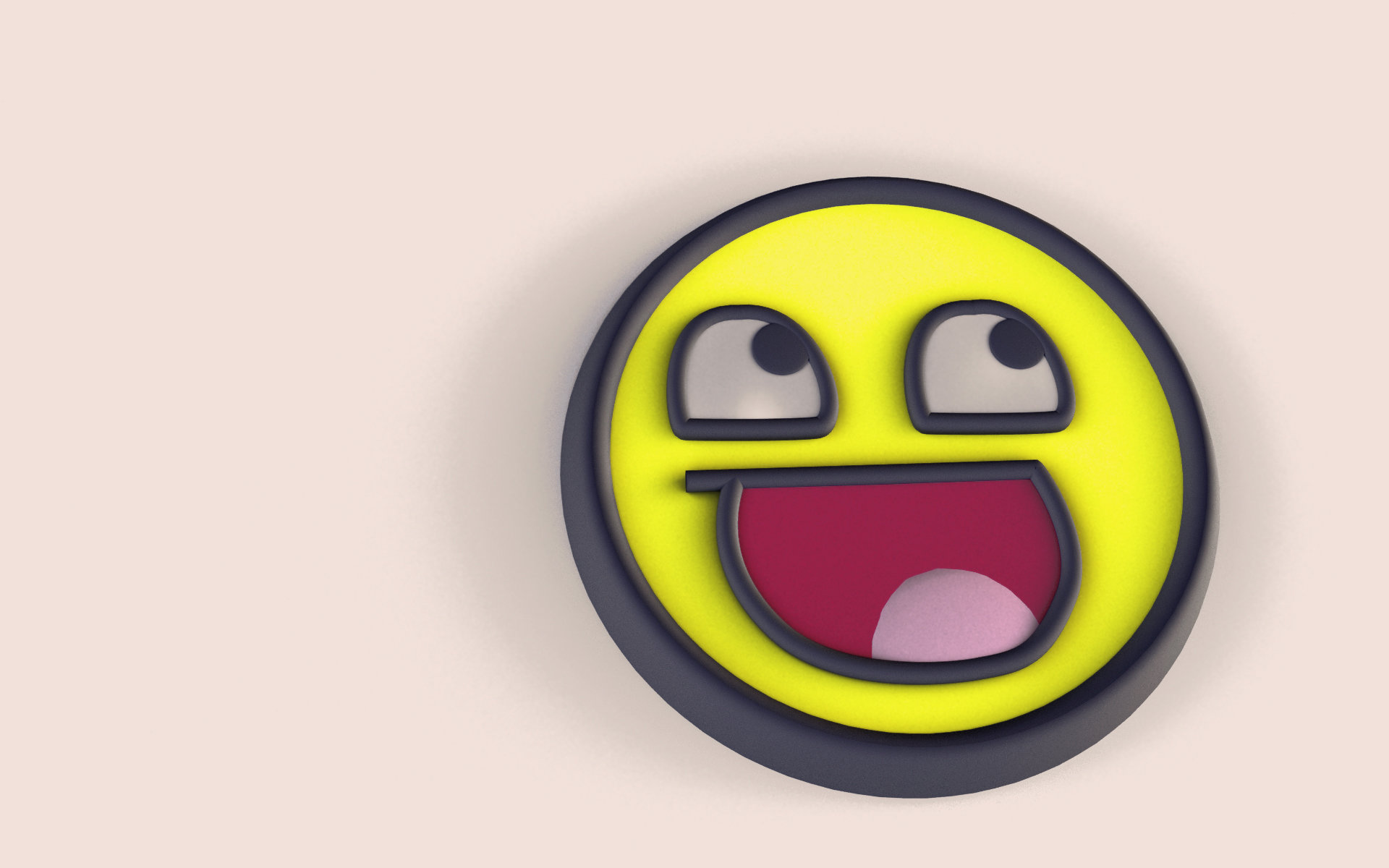 Awesome Smiley free wallpaper ID:64185 for hd 1920x1200 PC