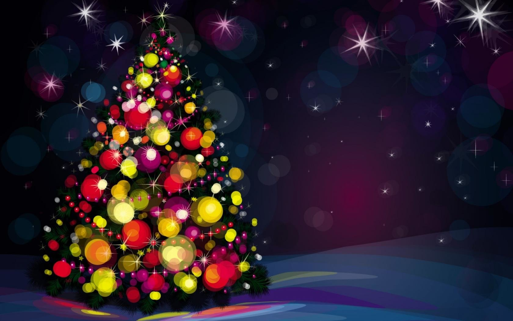 Christmas Tree Wallpapers 1680x1050 Desktop Backgrounds