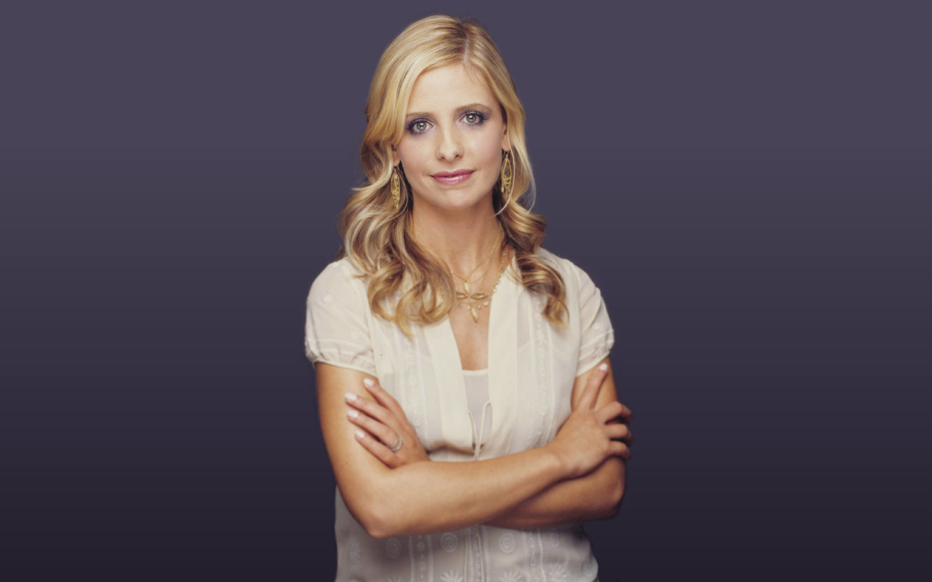 Free Sarah Michelle Gellar high quality wallpaper ID:187863 for hd 1920x1200 computer