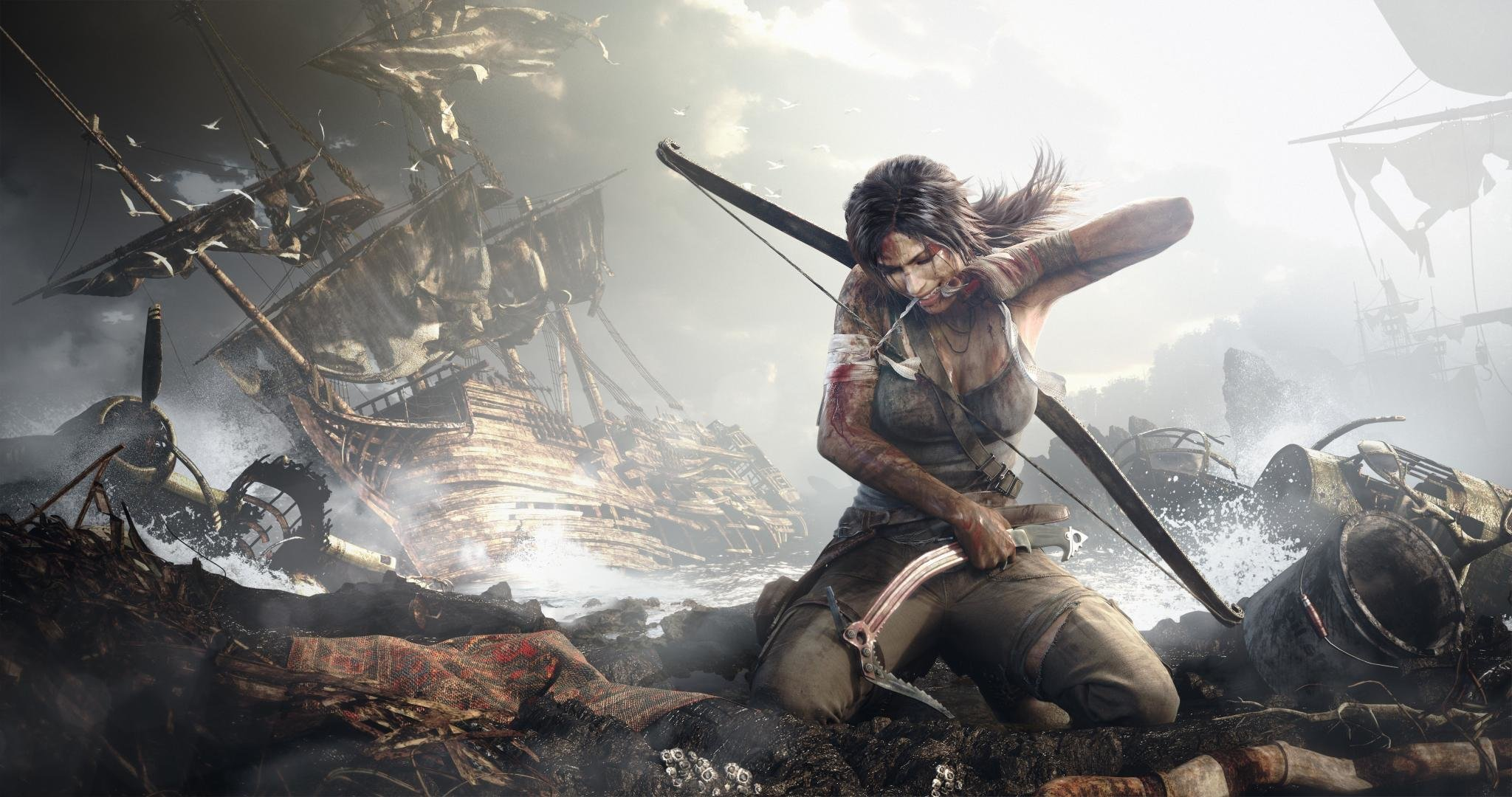 Free download Tomb Raider (Lara Croft) background ID:437311 hd 2048x1080 for desktop