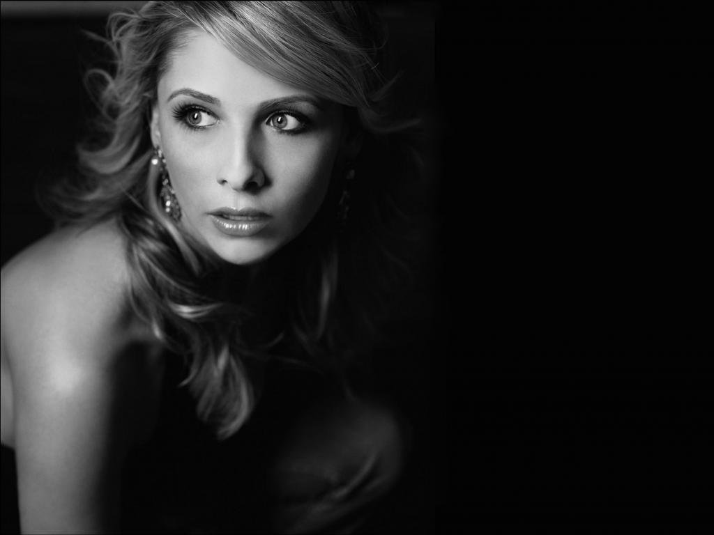 High resolution Sarah Michelle Gellar hd 1024x768 wallpaper ID:187850 for computer