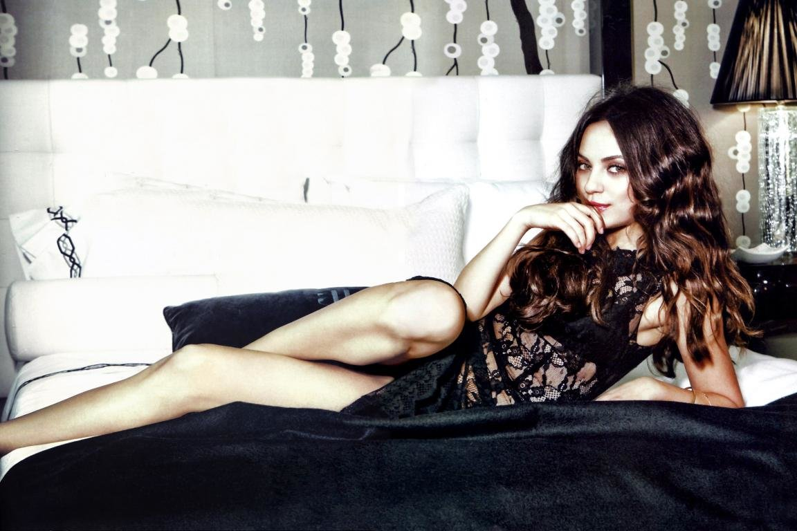 Awesome Mila Kunis free wallpaper ID:291522 for hd 1152x768 desktop