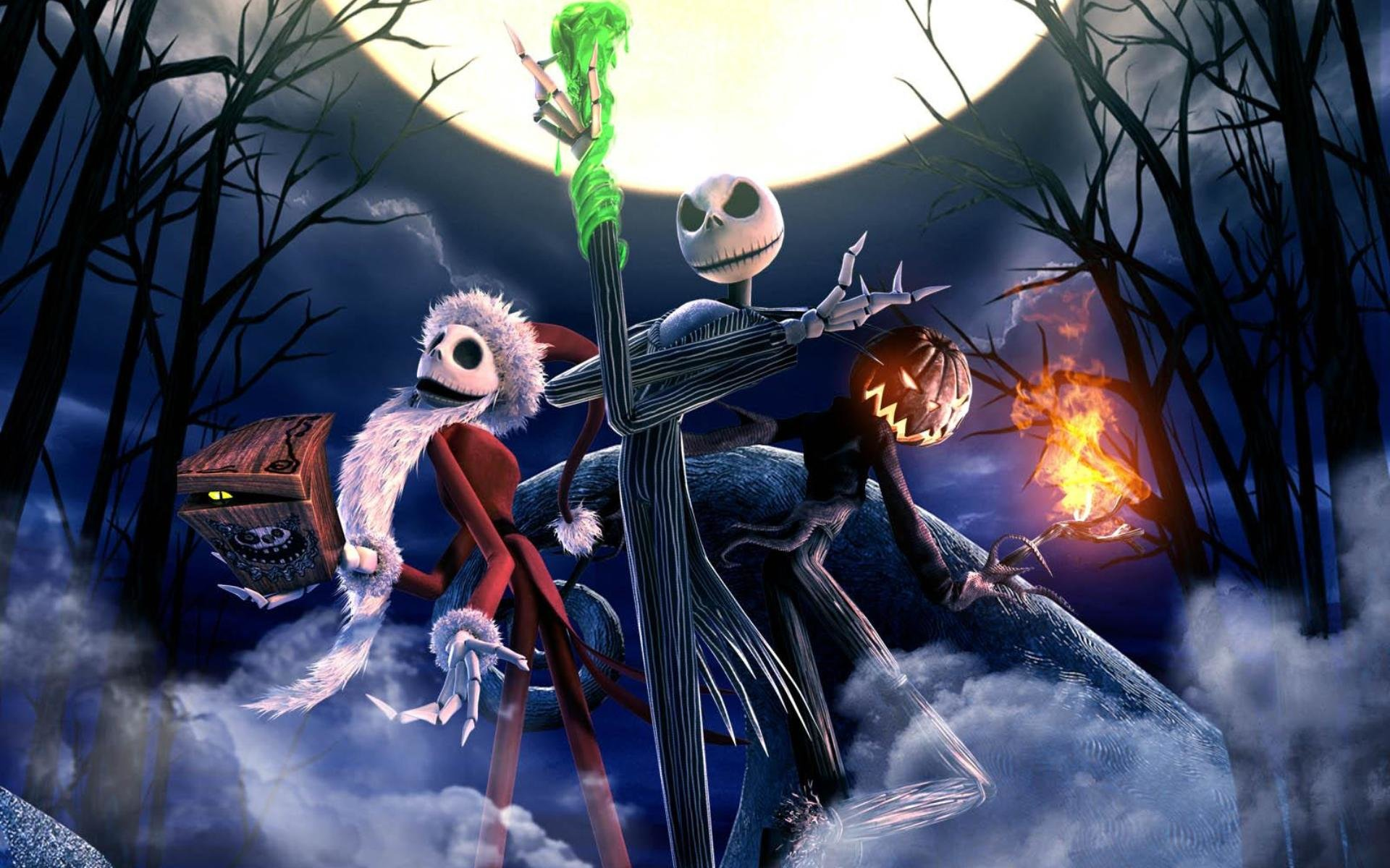 free the nightmare before christmas high quality background id227232 for hd 1920x1200 desktop - Nightmare Before Christmas Backgrounds