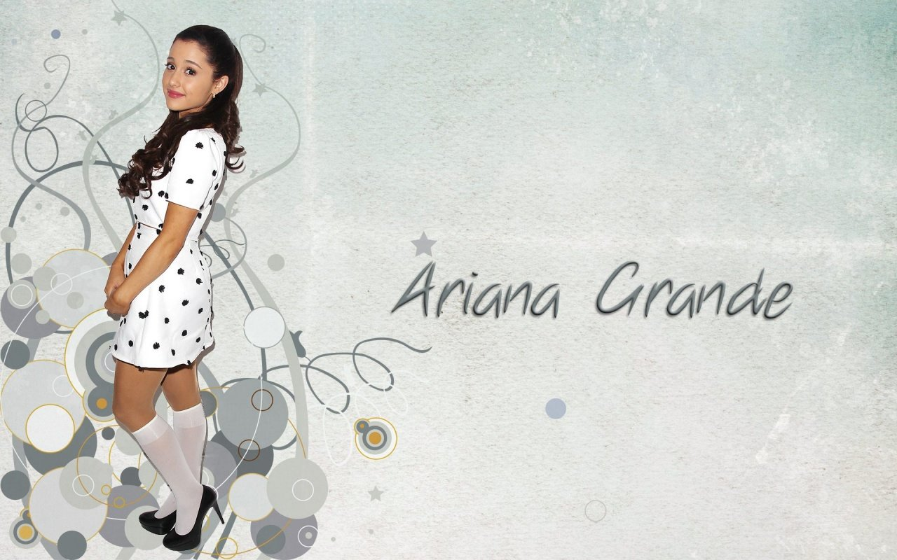 Awesome Ariana Grande free wallpaper ID:132237 for hd 1280x800 PC
