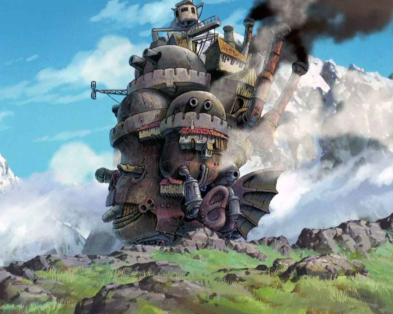 Awesome Howl's Moving Castle free background ID:347880 for hd 1280x1024 computer