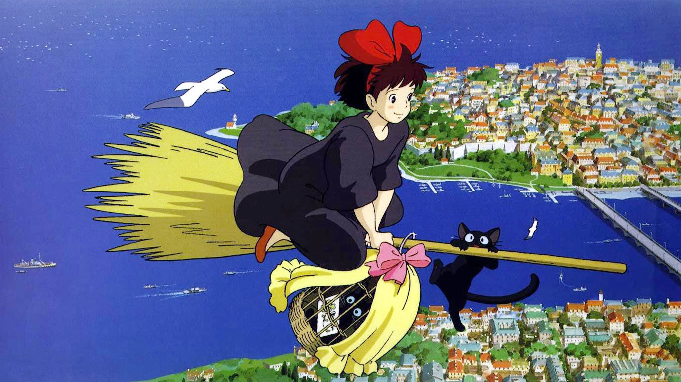 Awesome Kiki's Delivery Service free wallpaper ID:360367 for 1366x768 laptop computer