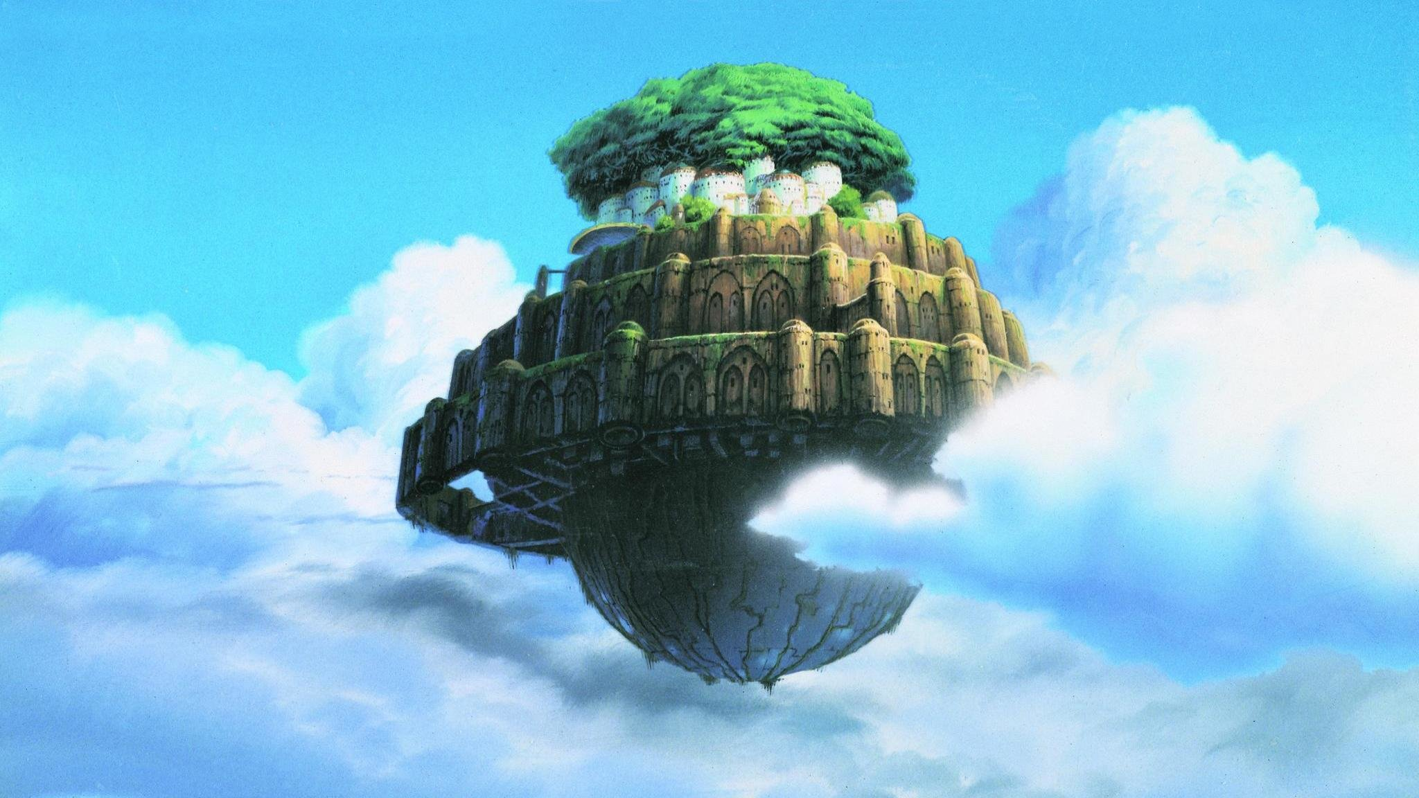 Awesome Laputa: Castle In The Sky free background ID:186151 for hd 2048x1152 computer