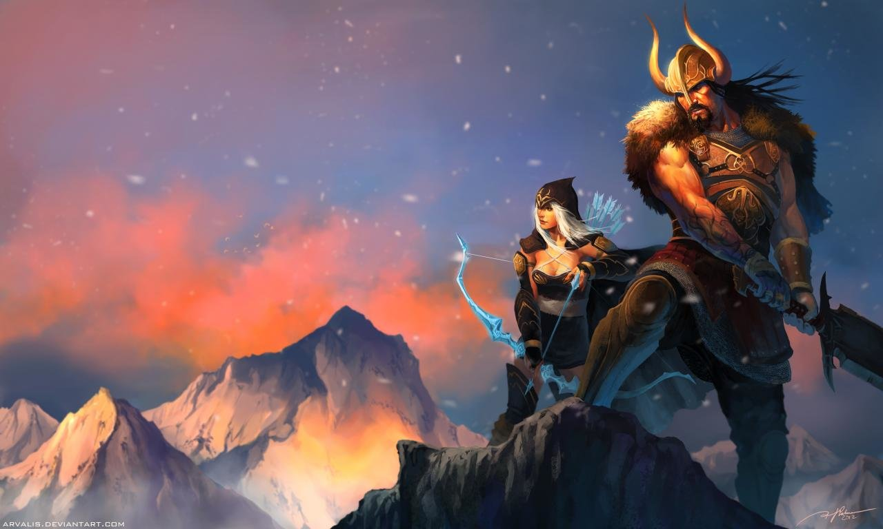 Download hd 1280x768 League Of Legends (LOL) desktop wallpaper ID:173342 for free