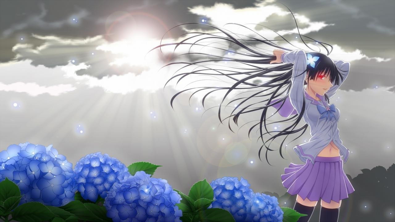 High resolution Sankarea hd 1280x720 background ID:135378 for computer