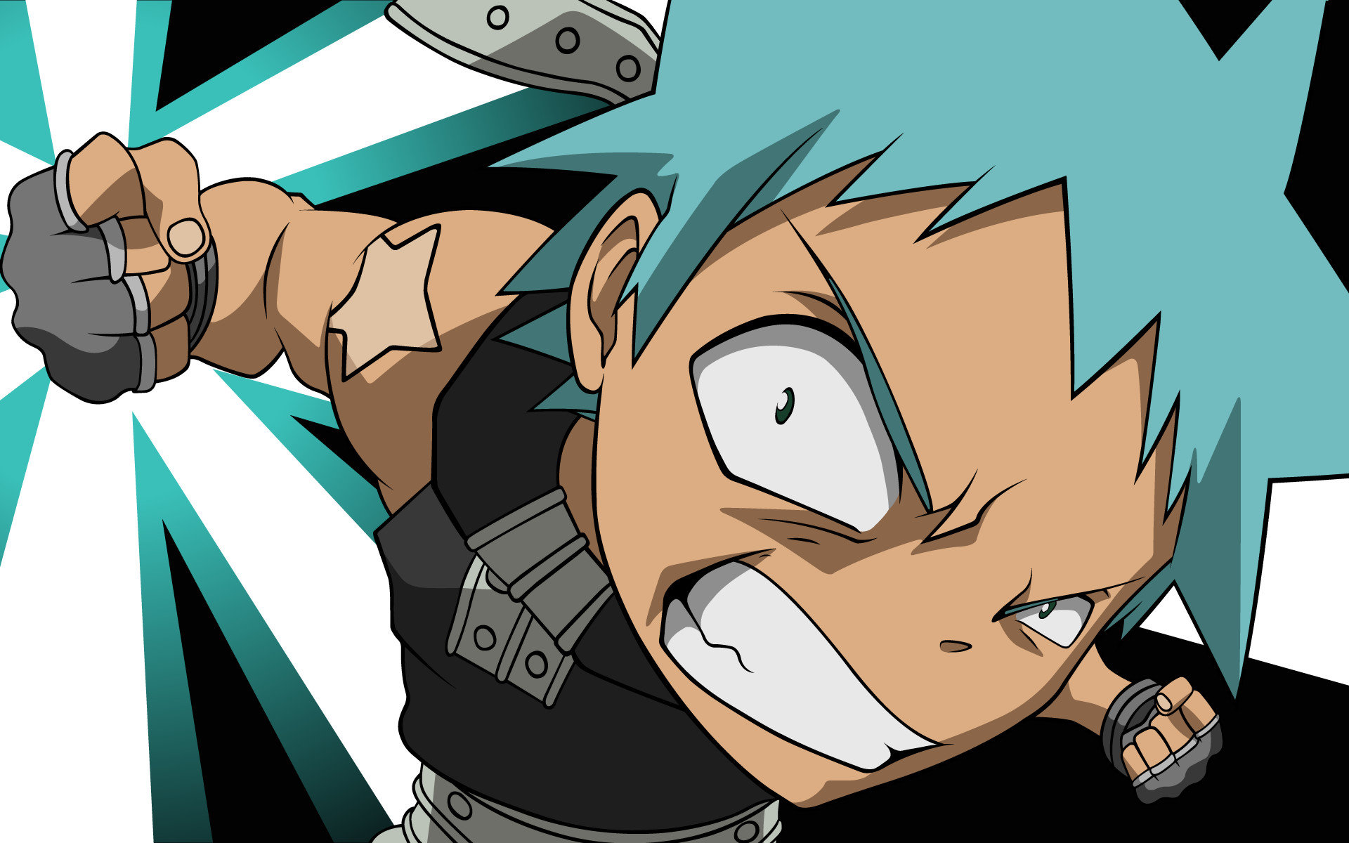 Download hd 1920x1200 Black Star (Soul Eater) computer wallpaper ID:469820 for free