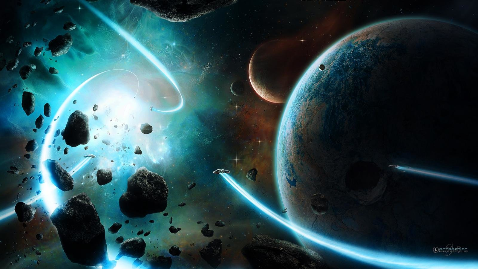 Cool Space Wallpapers 1600x900 Desktop Backgrounds
