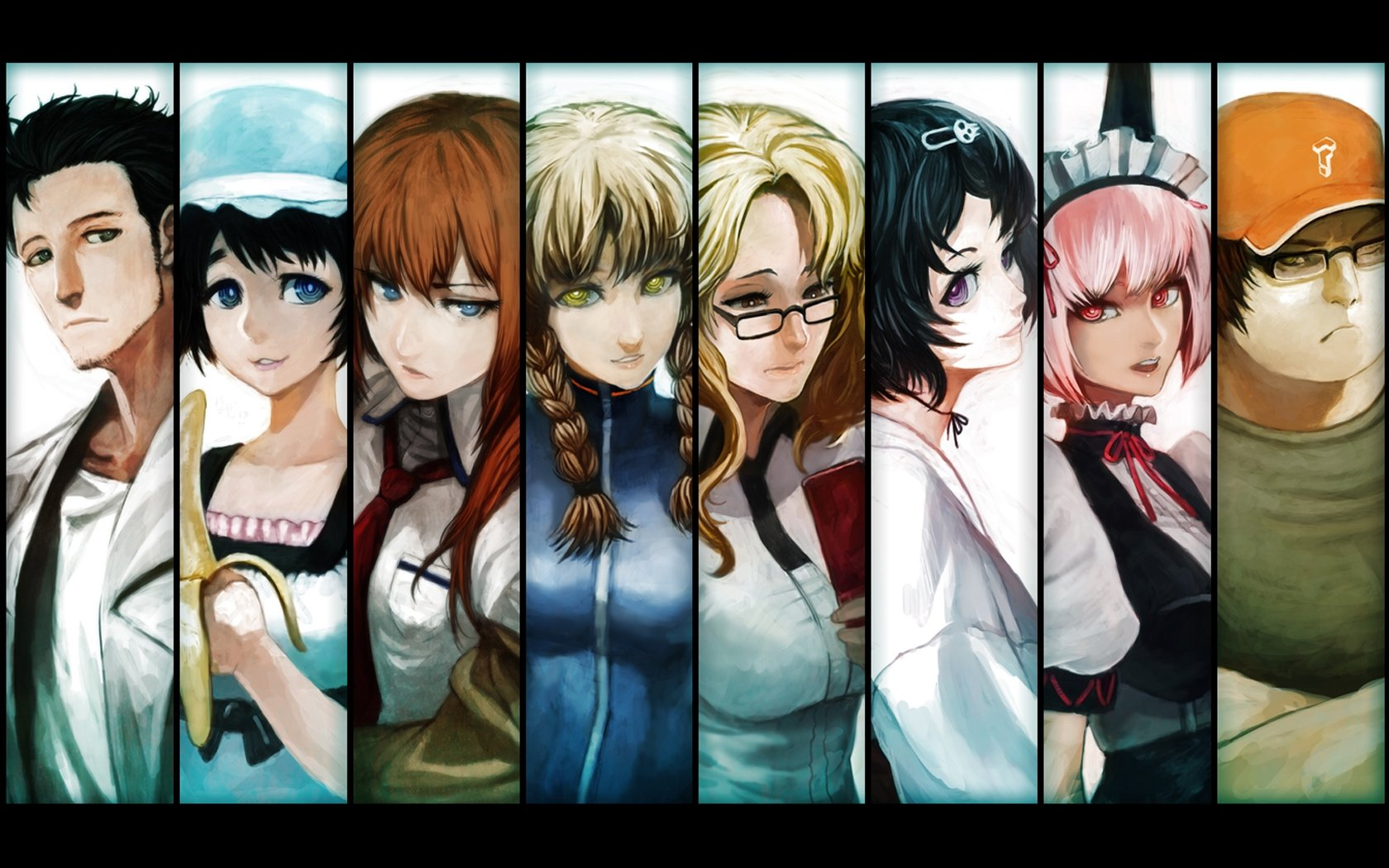 Download hd 1680x1050 Steins Gate PC background ID:315835 for free