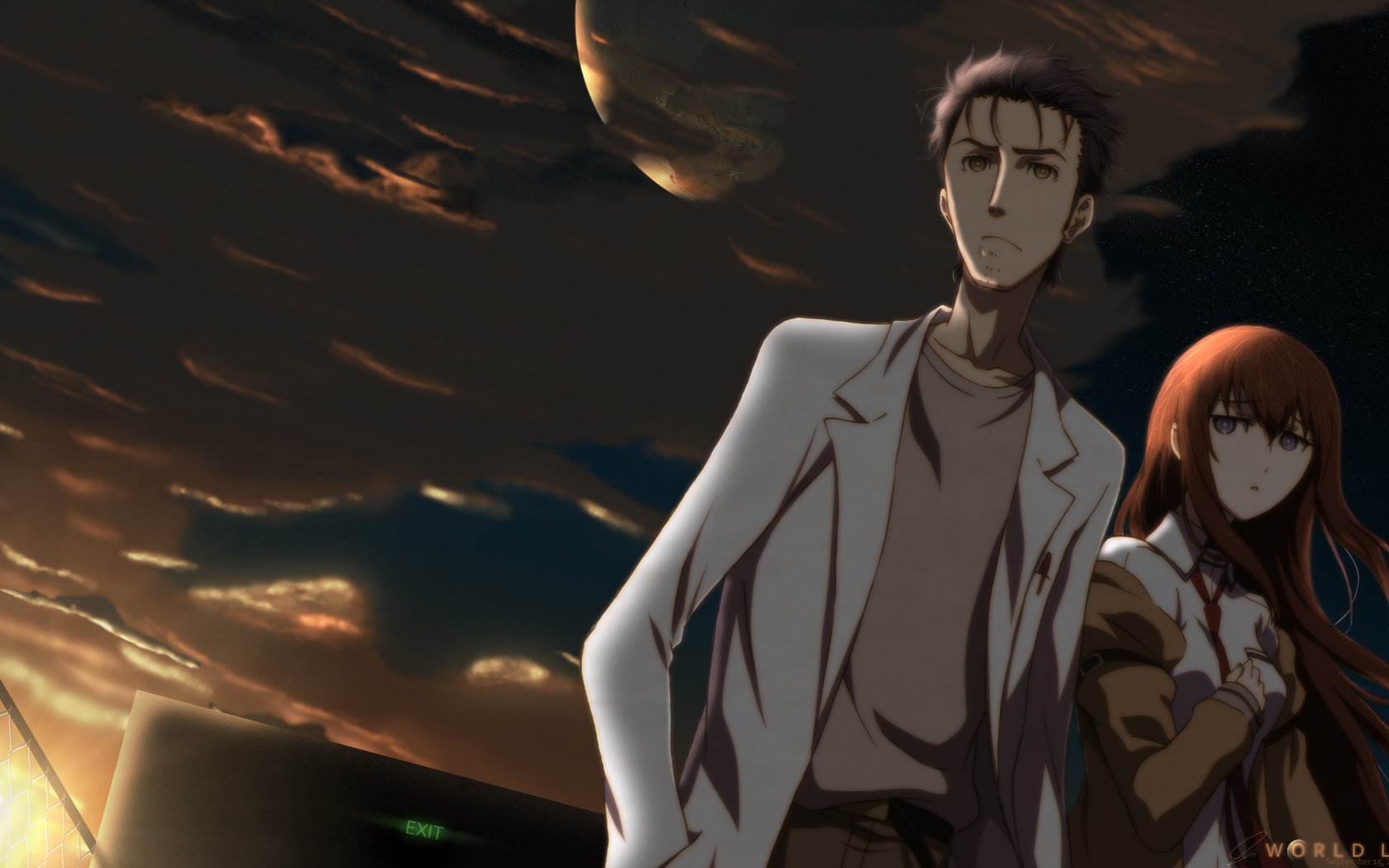 Awesome Steins Gate free wallpaper ID:315932 for hd 1680x1050 desktop