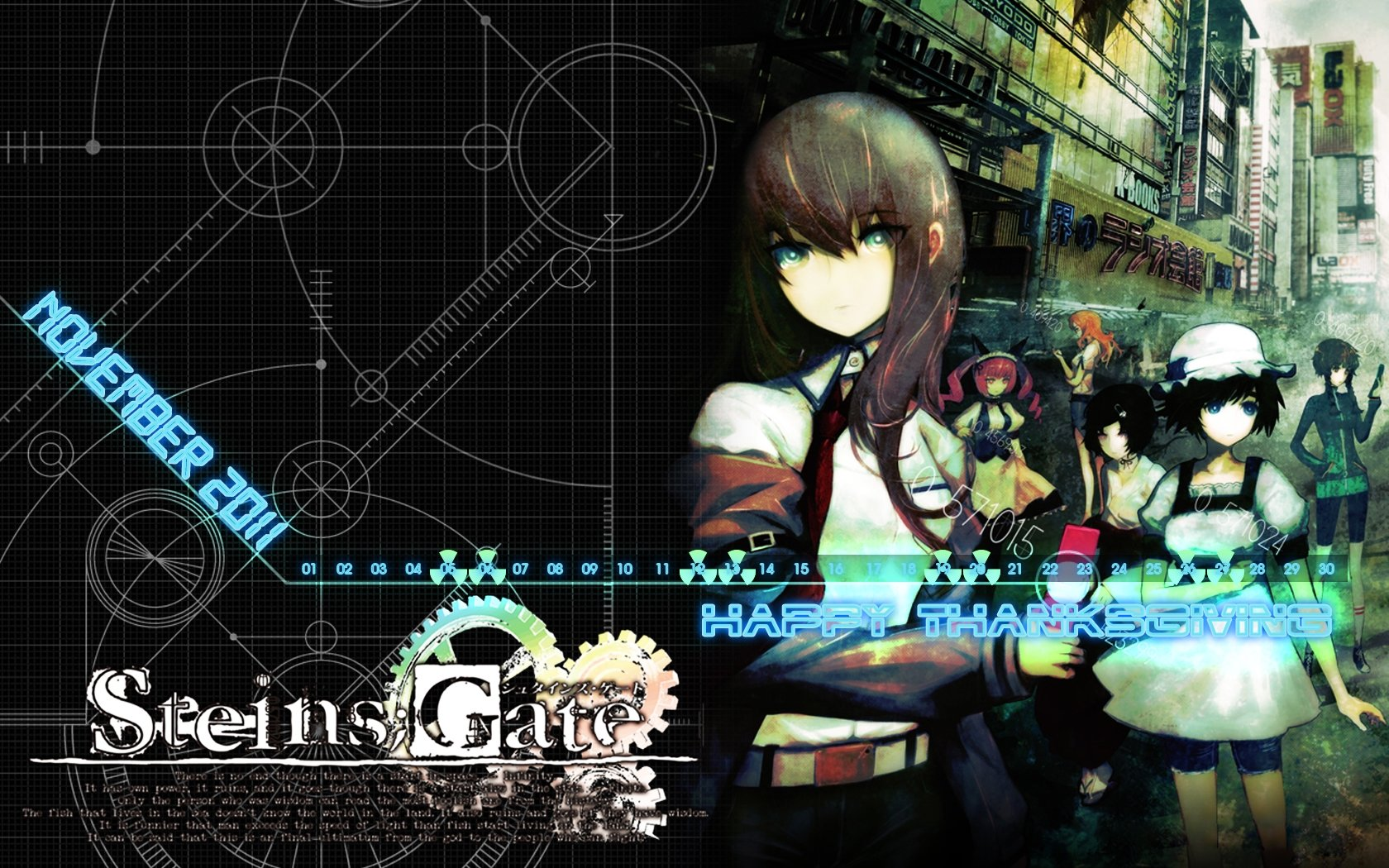 Awesome Steins Gate free wallpaper ID:316111 for hd 1680x1050 PC