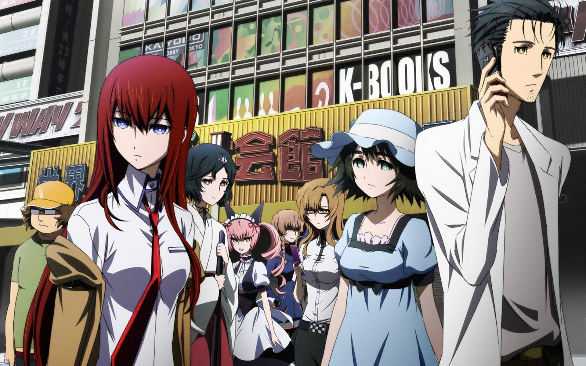 High resolution Steins Gate hd 1920x1200 background ID:315864 for PC