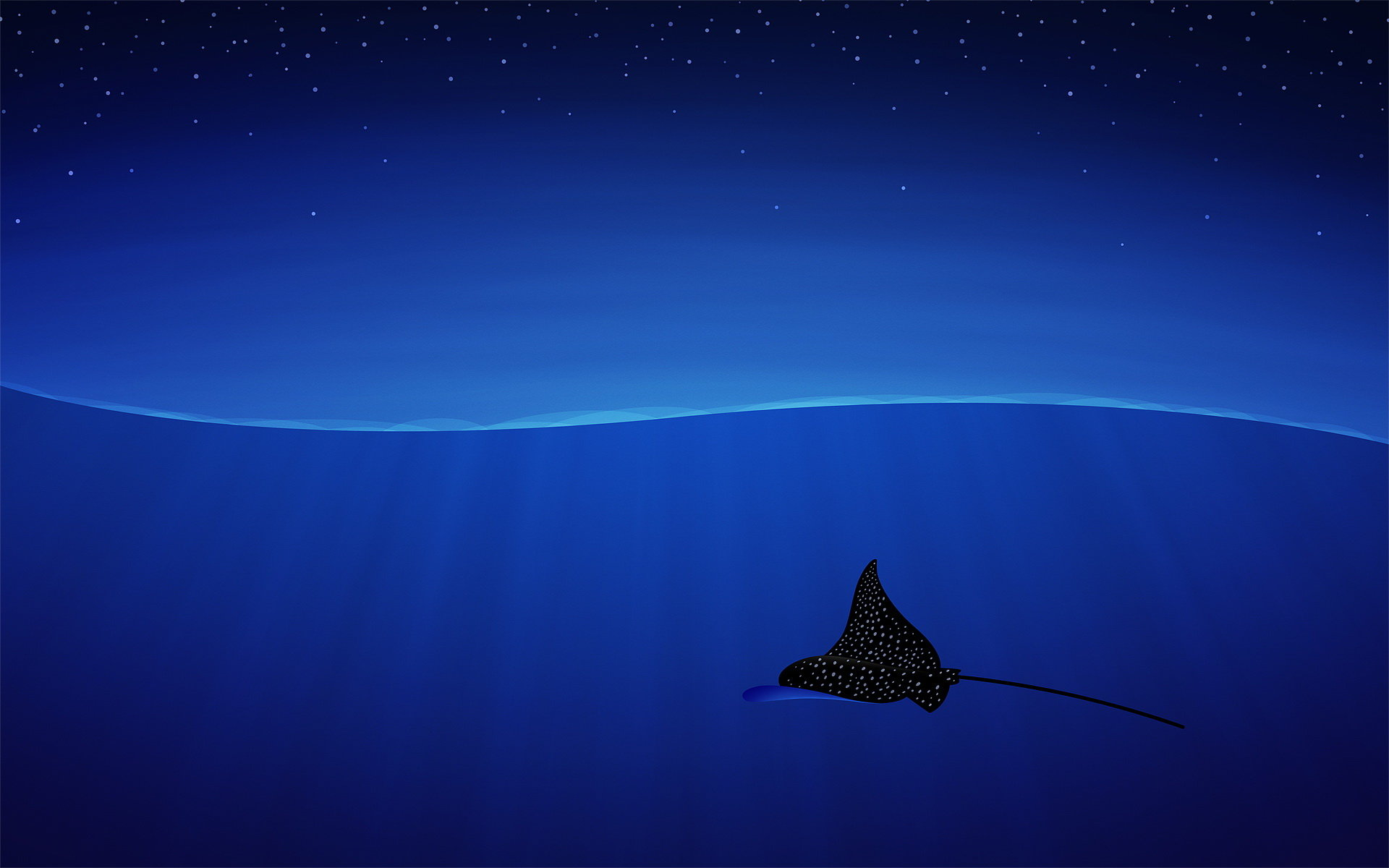 Download hd 1920x1200 Manta Ray PC background ID:346065 for free