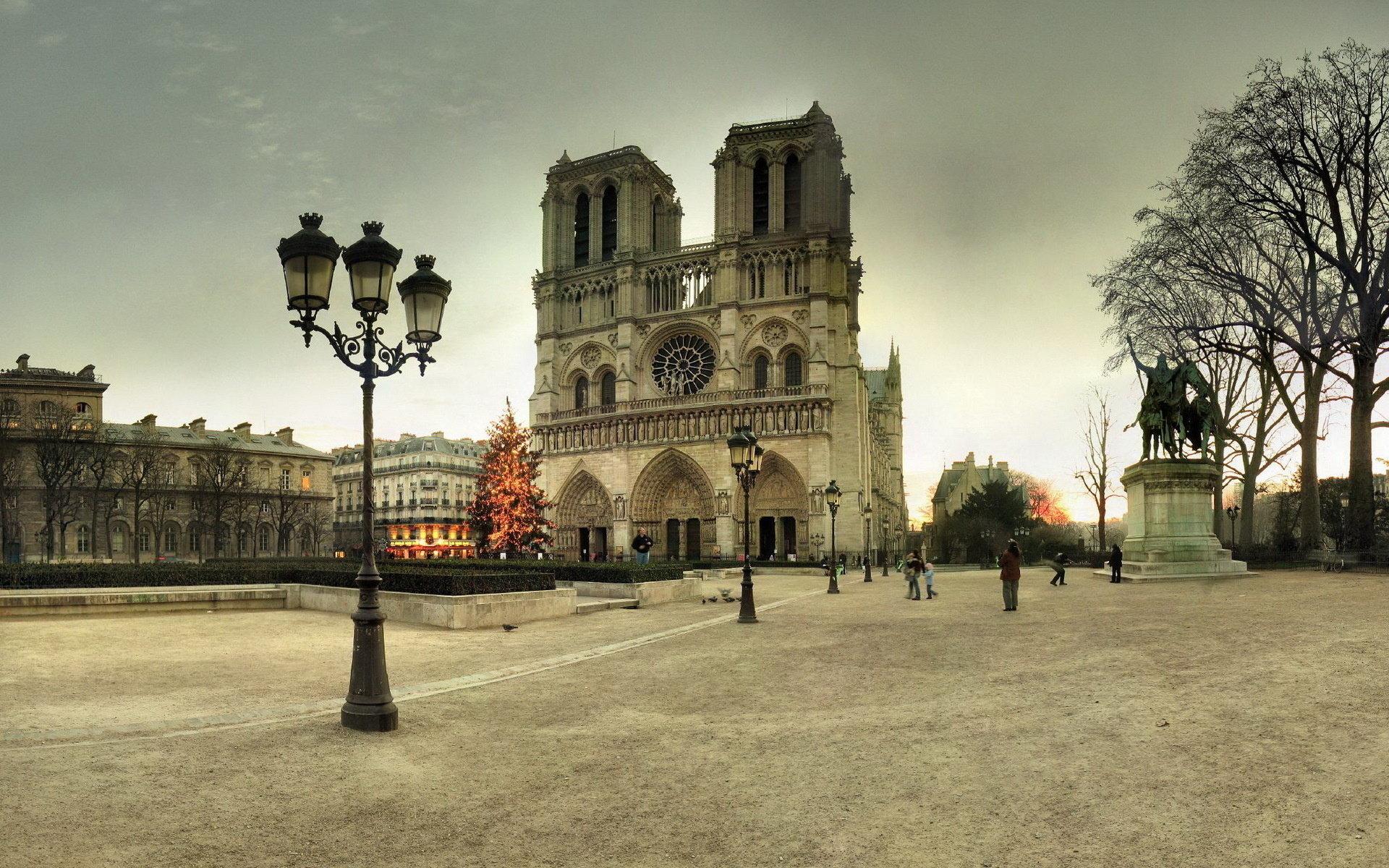 Free Download Notre Dame De Paris Background Id 483692 Hd 1920x1200 For Pc