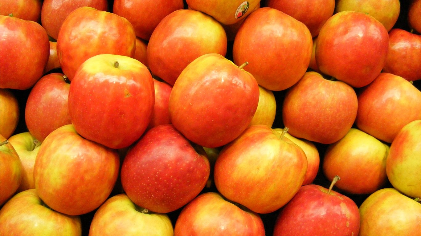 Free Apple fruit high quality wallpaper ID:295978 for laptop desktop