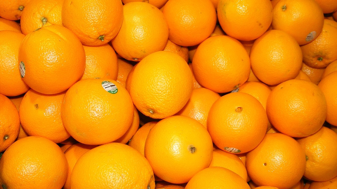 High resolution Orange hd 1366x768 background ID:135121 for desktop