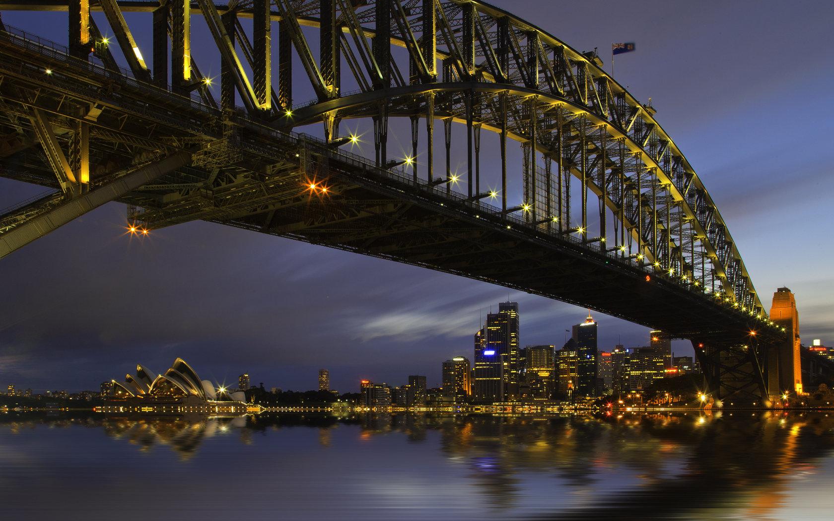 Sydney harbour bridge wallpapers 1680x1050 desktop backgrounds best sydney harbour bridge background id484895 for high resolution hd 1680x1050 pc altavistaventures Choice Image