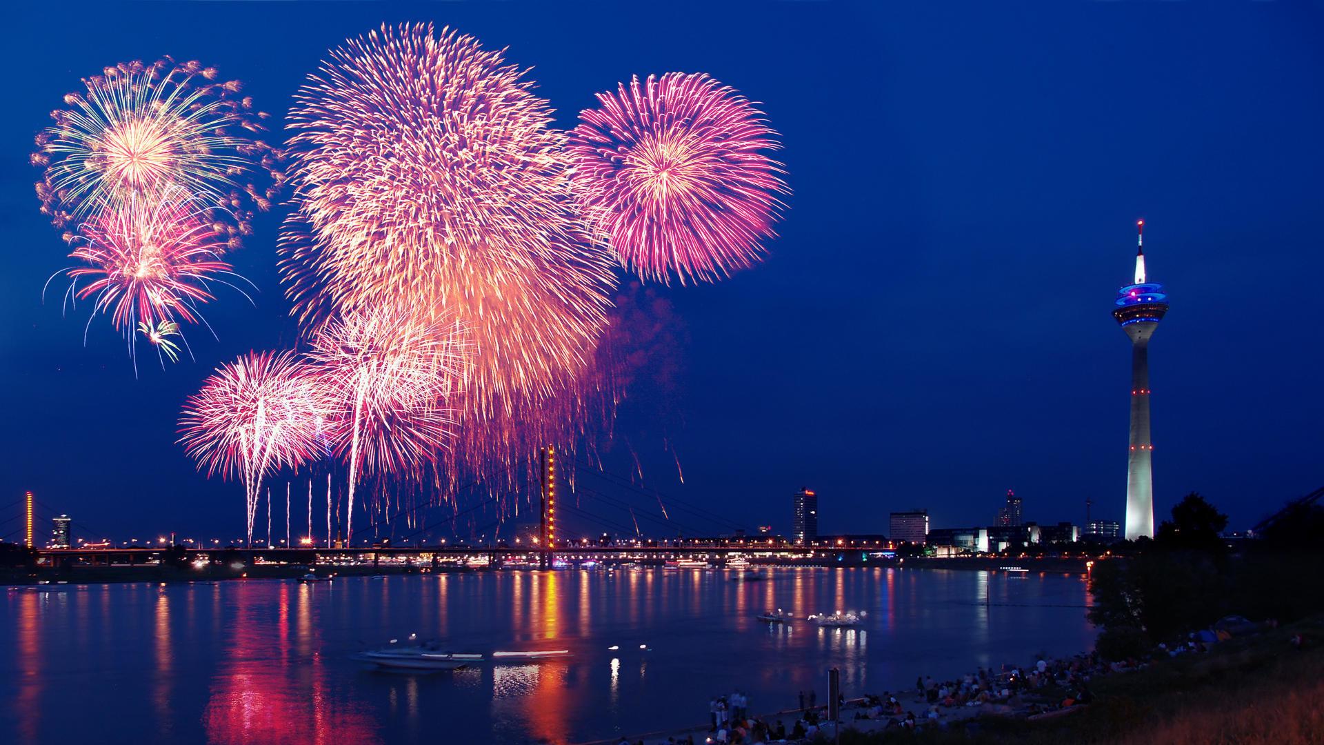 High Resolution Fireworks Full Hd 1080p Wallpaper ID384307 For Desktop