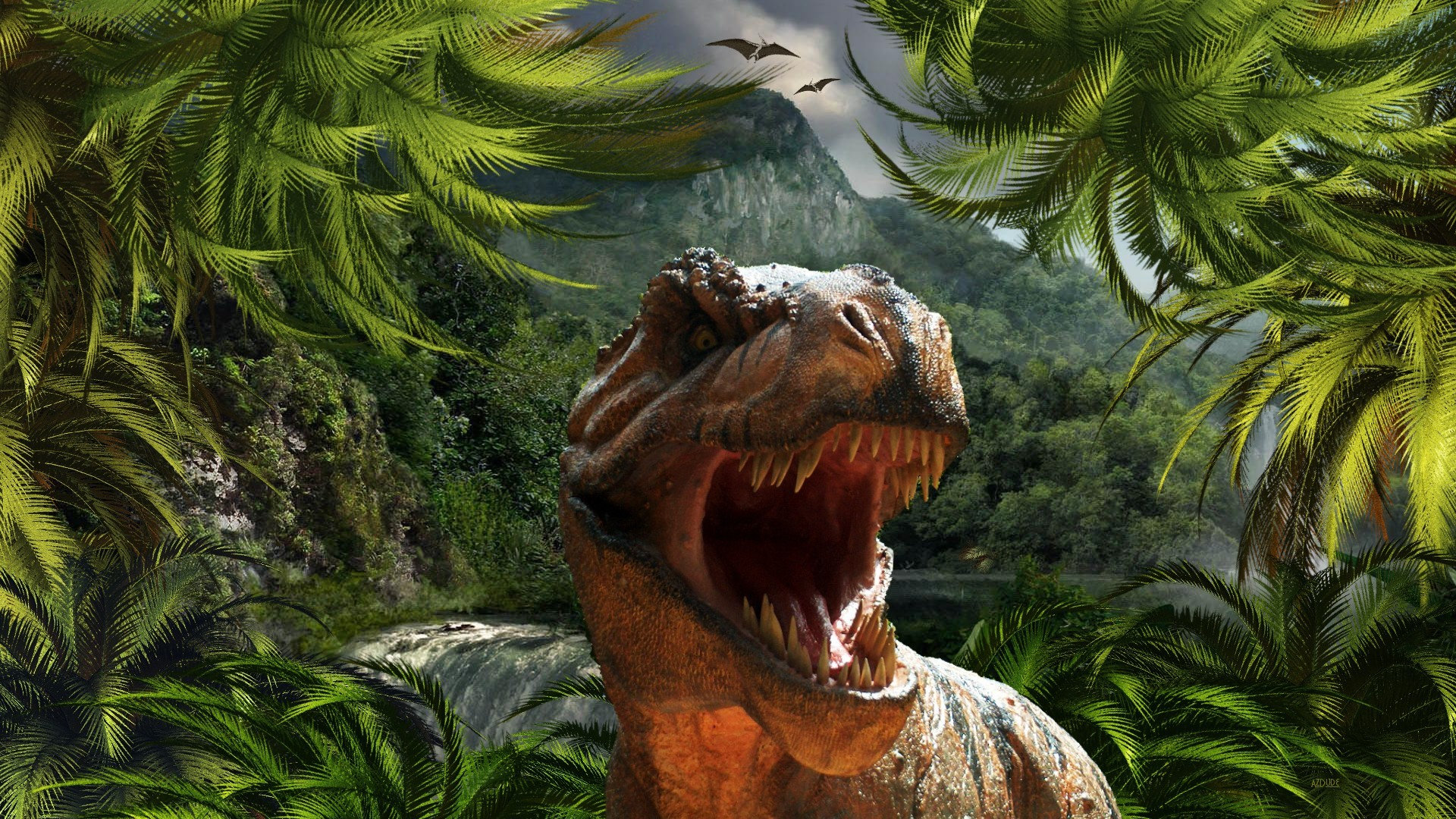 Free download Dinosaur background ID:73970 hd 1920x1080 for desktop