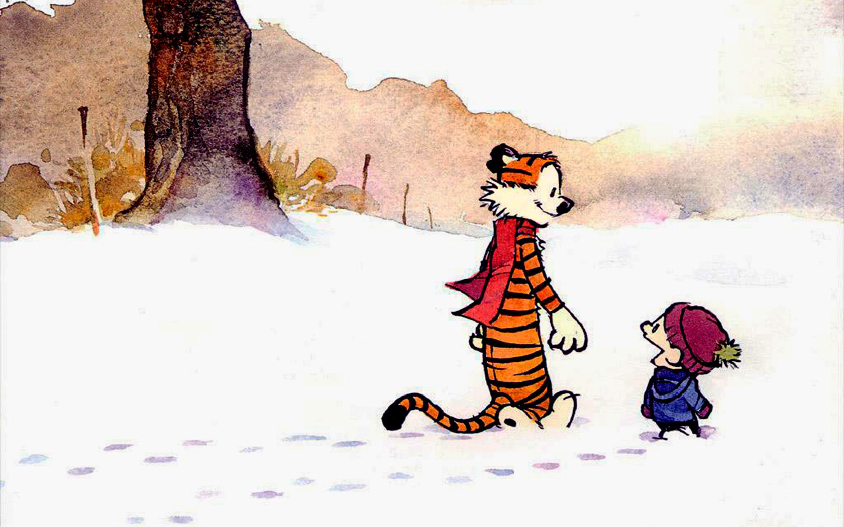 Free download Calvin and Hobbes wallpaper ID:211307 hd 1680x1050 for computer