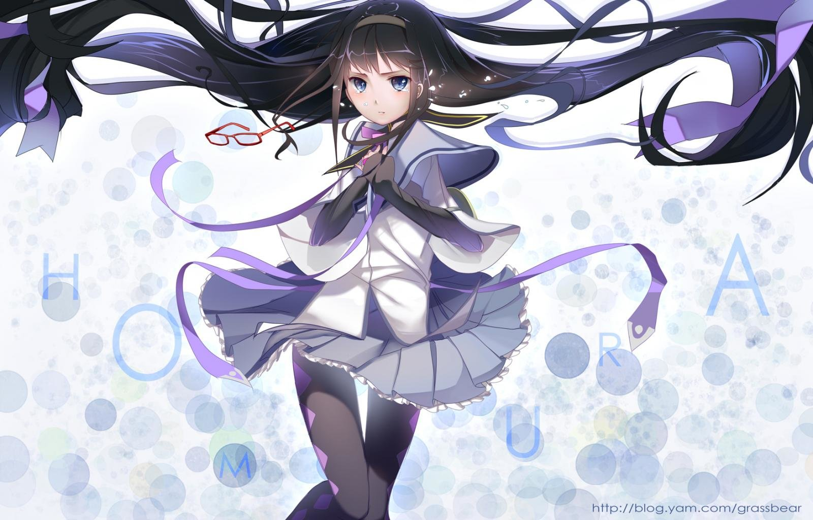 Download hd 1600x1024 Homura Akemi computer background ID:31606 for free