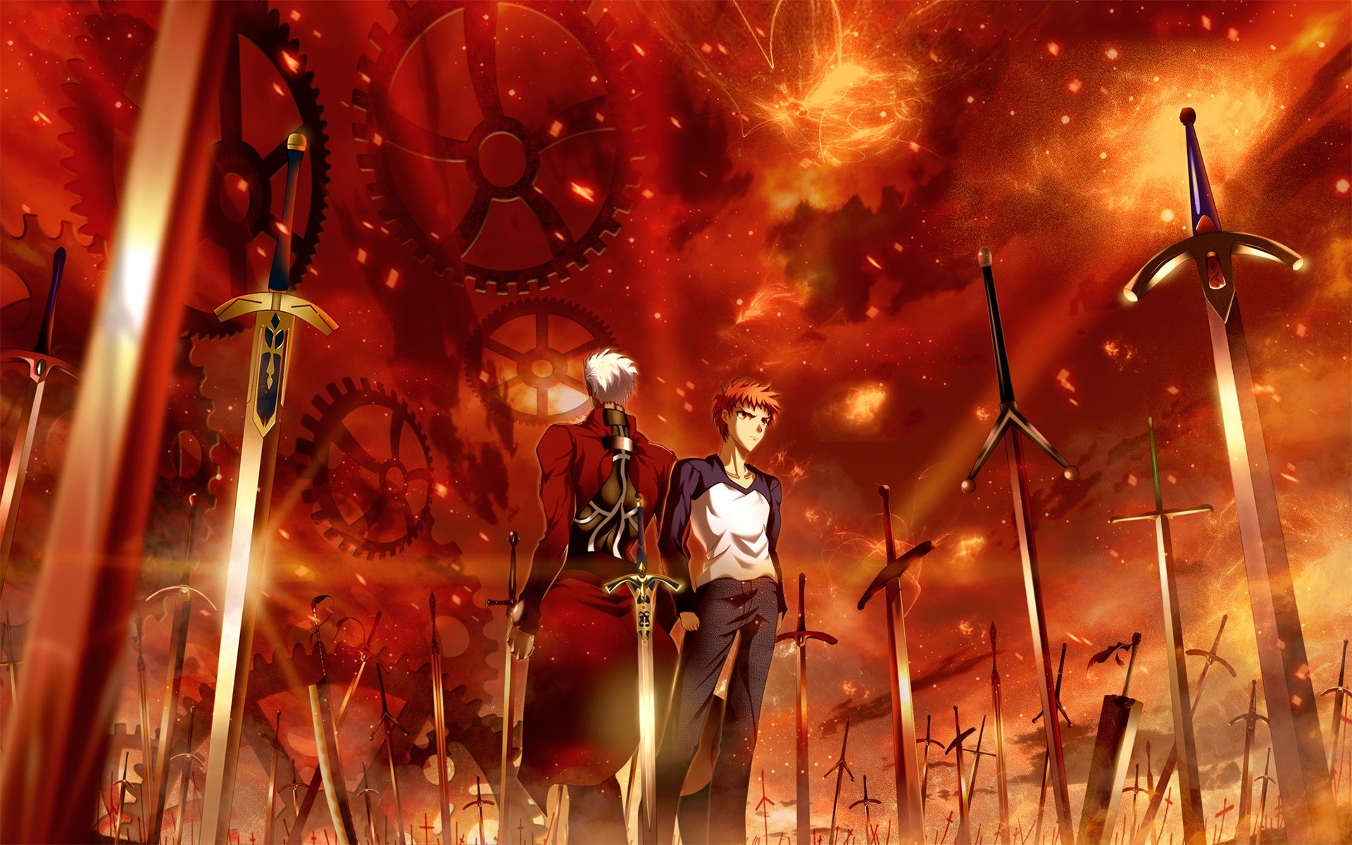 Free Fate/Stay Night: Unlimited Blade Works high quality background ID:291078 for hd 1920x1200 desktop