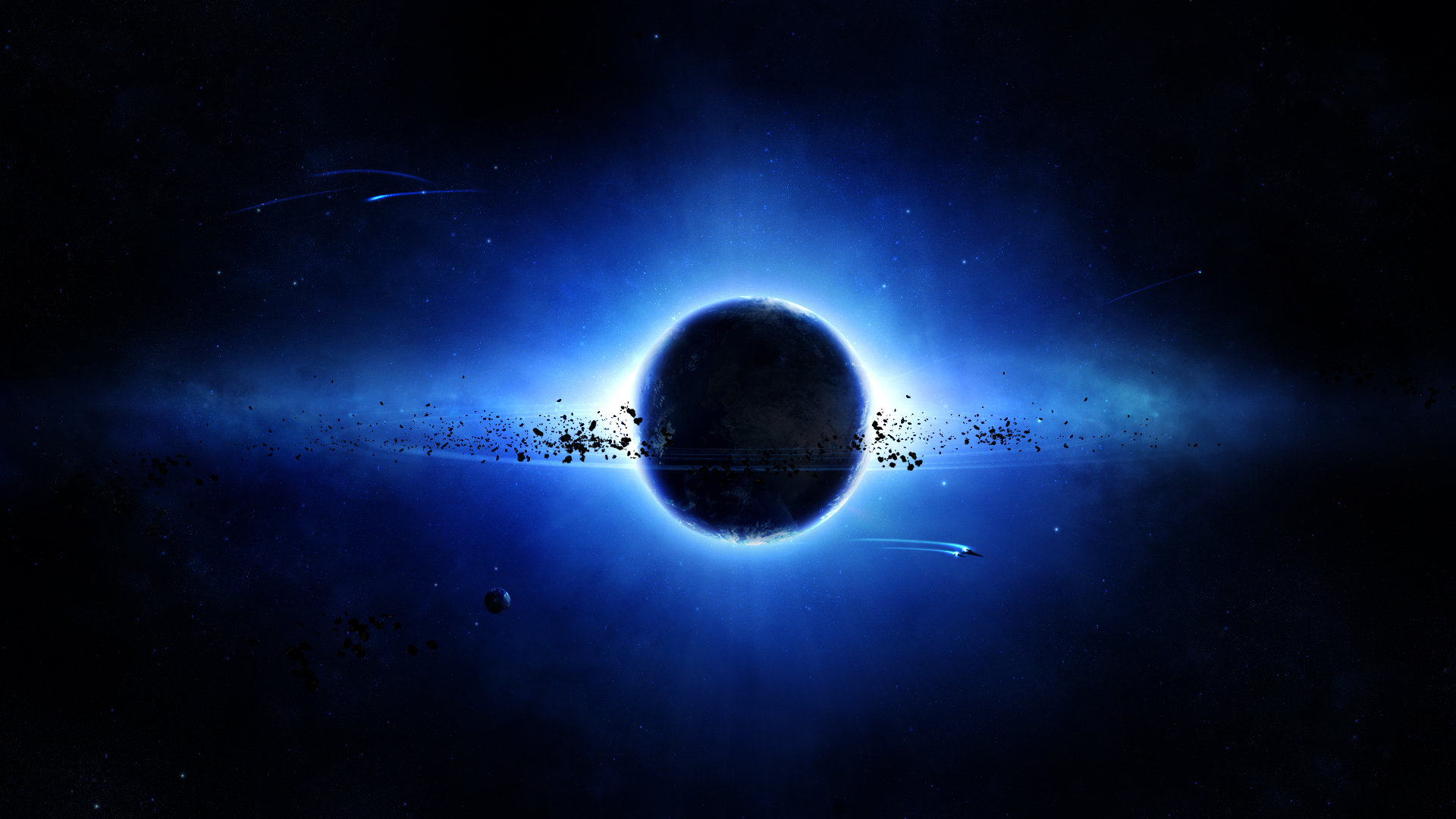 Download 1080p Planetary Ring PC background ID:256485 for free