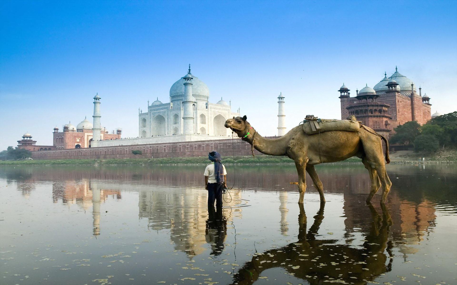 High Resolution Taj Mahal Hd 1920x1200 Wallpaper Id486408 For Pc