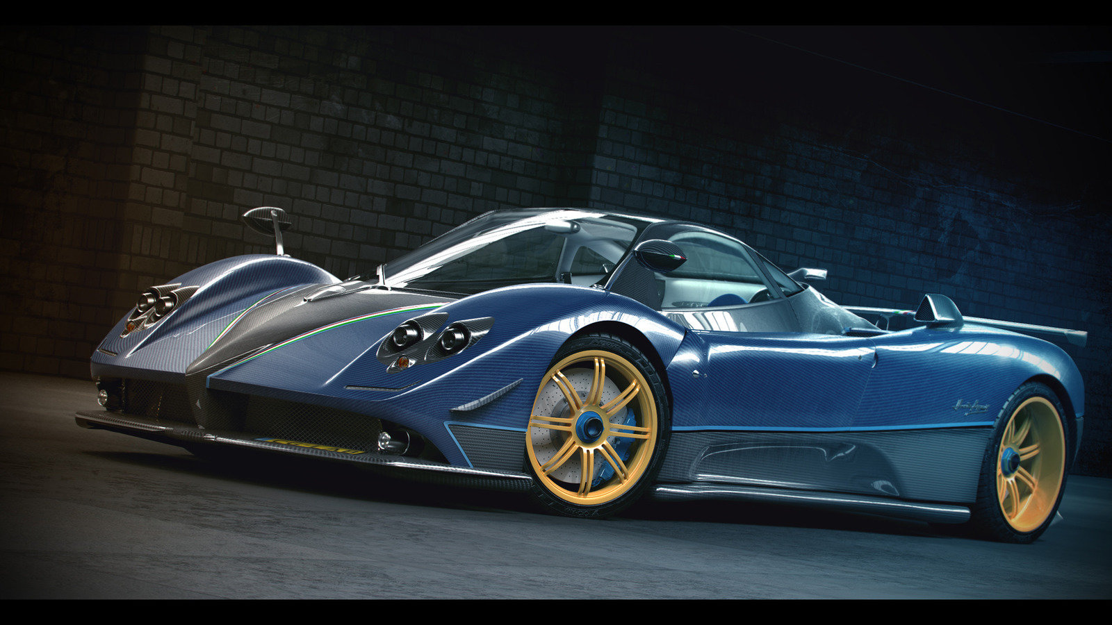 Best Pagani Zonda background ID:161210 for High Resolution hd 1600x900 desktop