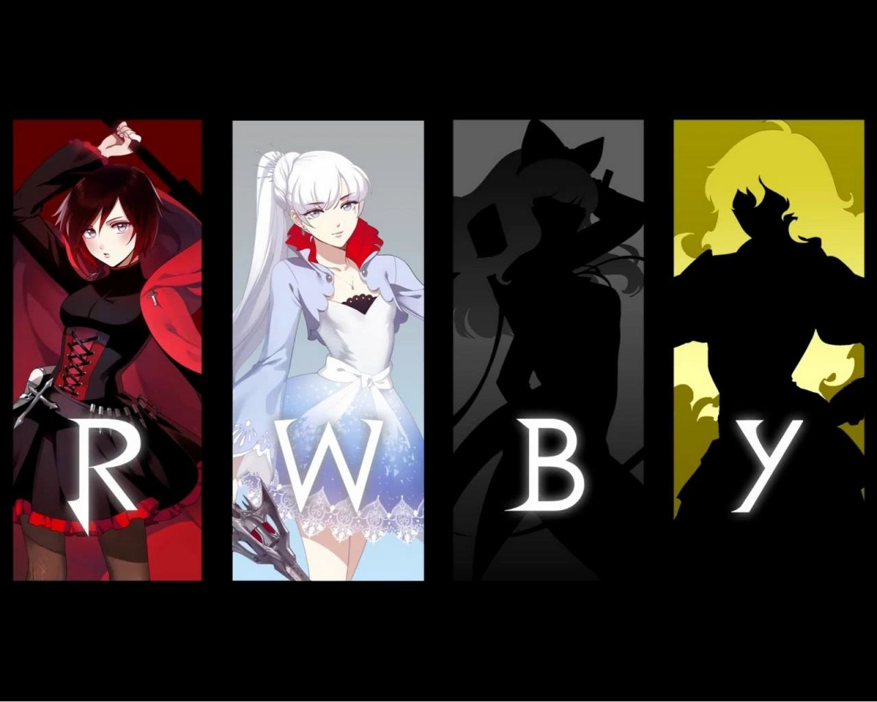 Download hd 1280x1024 RWBY computer background ID:437689 for free