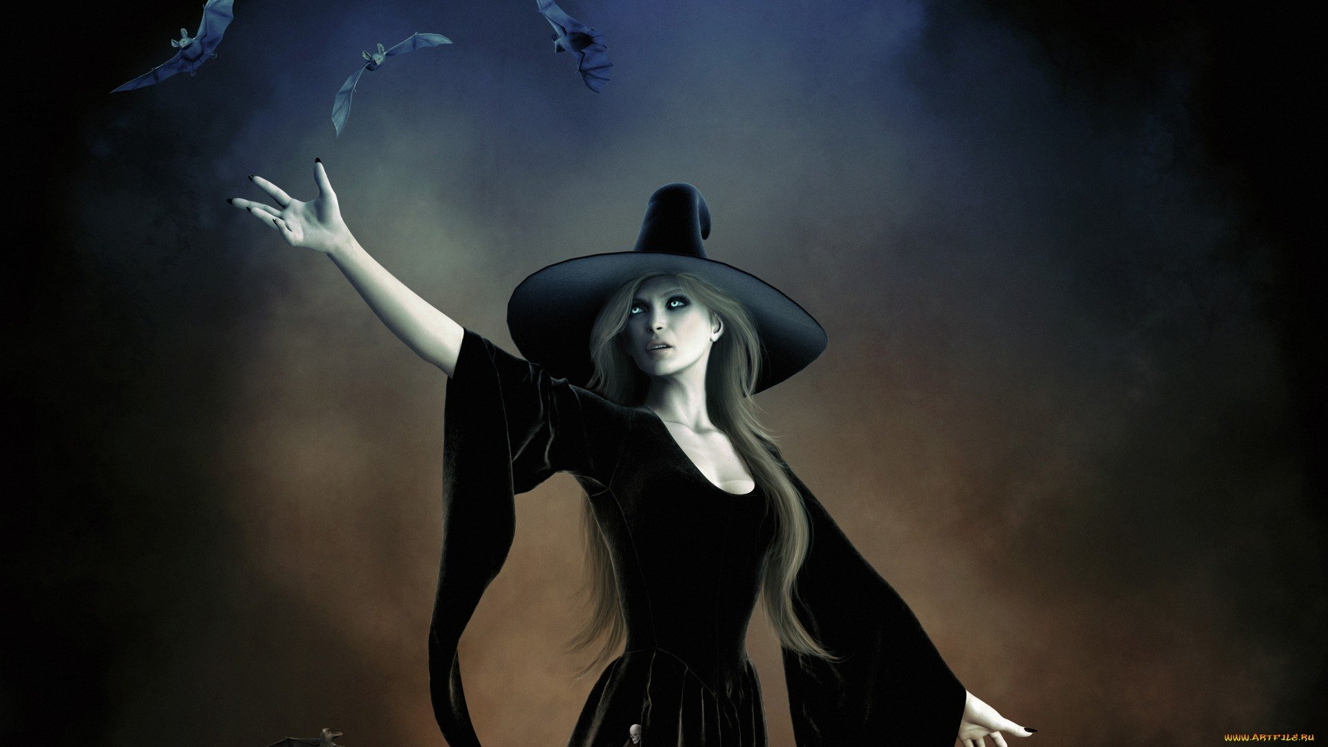 Free Witch high quality background ID:410630 for hd 1920x1080 desktop